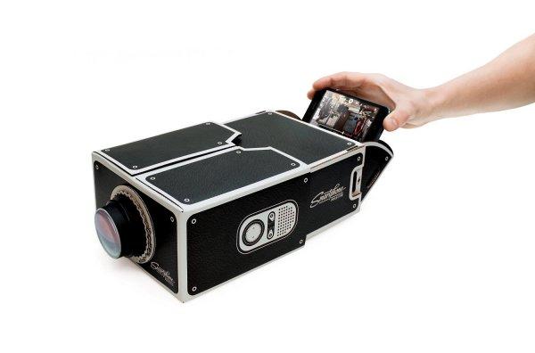 Jedes Smartphone zum Beamer verwandeln [Smartphone Projector] KEINE 2000 Lumen :-)