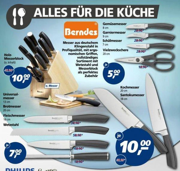 (real bundesweit ) diverse Qualitäts Messer von Berndes zum Megapreis