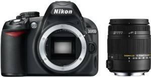 [Amazon WHD] Nikon D3100 SLR-Digitalkamera Kit inkl. Sigma 18-250mm F3,5-6,3 DC Macro OS HSM Objektiv