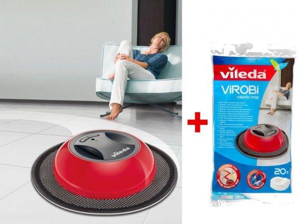 vileda ViRobi System inkl. 20 Ersatztücher für 24,99€  zzgl. 4,95€ Versand @Lidl Online