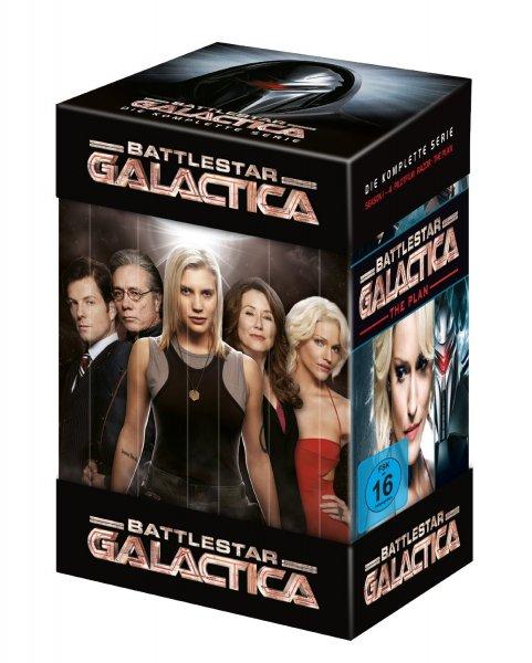 [DVD] Battlestar Galactica - Die komplette Serie (Staffel 1 - 4, Pilot, The Plan, Razor) für 31 € @ amazon.de