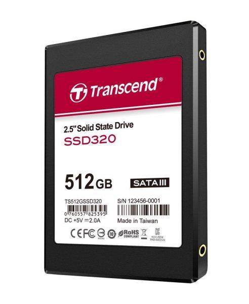 Transcend 2.5 SATA III SSD320 512GB @ Amazon.fr