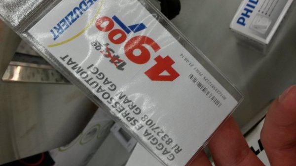 Philips Gaggia Espressoautomat RI 8327/08 für 49€!