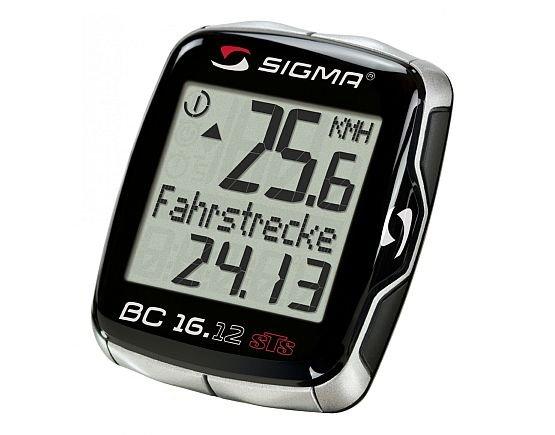Sigma 16.12 STS CAD Fahrradcomputer für EUR 33,90 (VK-Frei)