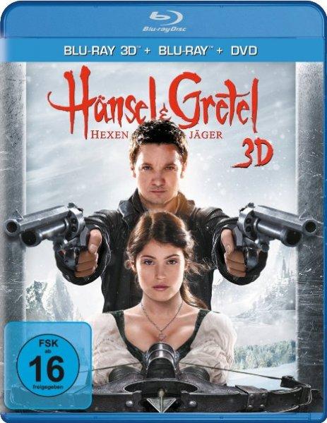 [Amazon.de Prime] Hänsel & Gretel: Hexenjäger ( DVD + Blu-Ray + 3D Blu-Ray), Idealo.de ab 24,99€