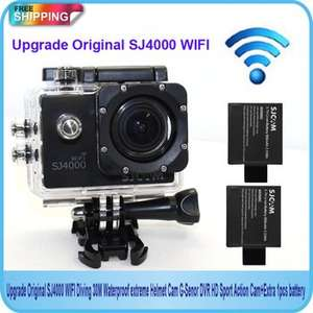 SJ4000 WIFI + extra Akku und Zubehör  - GoPro Alternative