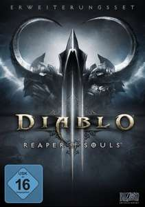 Diablo III: Reaper of Souls (Add-on) für 19,97€ bei AMAZON (PC)