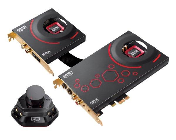 Creative Sound Blaster ZxR Interne Soundkarte (SNR 124dB, PCI-Express, 3,5 mm Jack für 125,61€ inkl. Versand @ Amazon.es