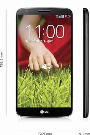 LG G2 32GB mit Wenig-Telefonierer-Vertrag für 103,53€ bzw. 308,48€