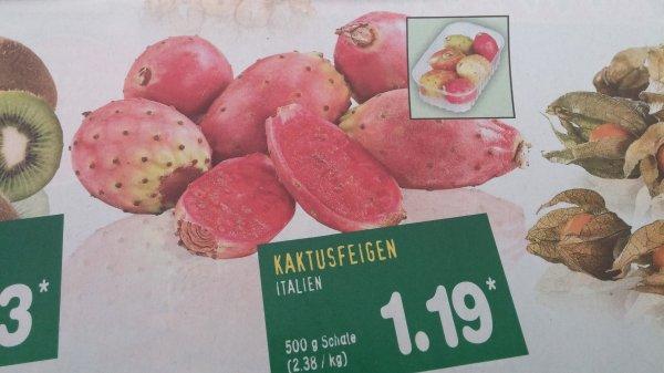 [Netto Marken-Discount] 6 Kaktusfeigen (500 g) für 1,19 Euro