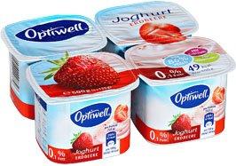 Kaufland: 4x125g Optiwell-Joghurt für 0,79 € - 30% Ersparnis
