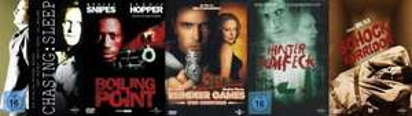 DVD - Boiling Point & Reindeer Games & Hinter Kaifeck & Schock-Korridor & Chasing Sleep für ZUSAMMEN €1,99 [@Media-Markt.de]