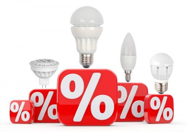LED-Lampen mit bis zu 73% Rabatt