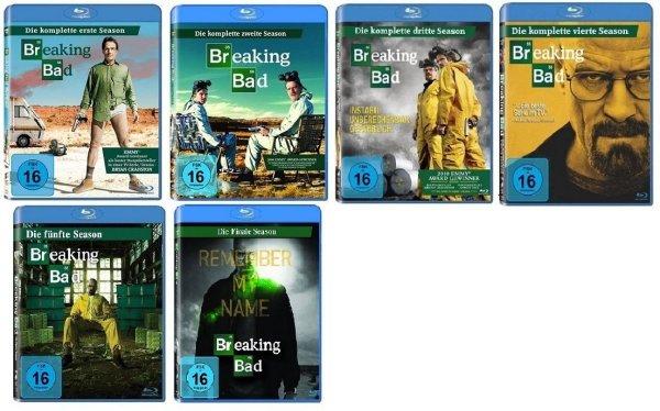 Blu-Ray Box - Breaking Bad (Season 1-6) ab je €11,97 [@Amazon.de PRIME]