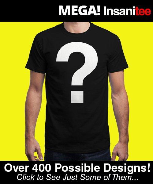 Zufalls T-Shirt bei Qwertee für Männer / Frauen / Kinder für 5€ + Versand