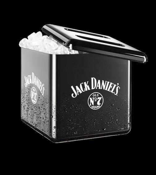 Eiswürfelbehälter / Eisbox  Jack Daniels 4 Liter