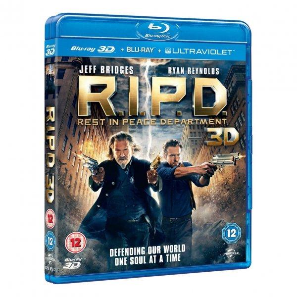 Blu-ray 3D - R.I.P.D.: Rest in Peace Department (3D&2D/2 Discs) für €9,72 [@Wowhd.se]