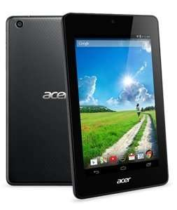 Acer Iconia One 7 (B1-730HD) 7 Zoll Tablet (Intel Atom Z2560, 1,6GHz, 1GB RAM, 8GB eMMC, IPS, Android 4.2/4.4) schwarz 79€ @Amazon Blitz