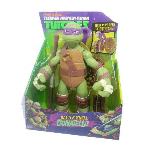 (MÜLLER) Riesen Action Figur (28 cm) - Turtles - Battle Shell Donatello