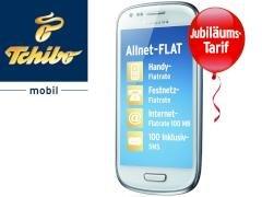 ab 1.9. bei tchibo: Allnet-Flat, 100 MB Internet, 100 SMS für 10 Euro