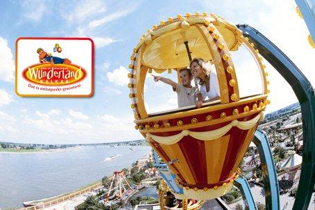 50% Rabatt auf Eintrittskarte für den Freizeitpark Wunderland Kalkar inkl. all-you-can-eat Pommes, Eis und Getränke