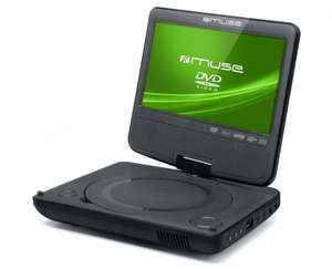 MUSE M-770 DP portabler DVD Player mit Monitor schwarz @comtech Quickdeal