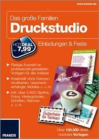 Franzis - Das große Familien Druckstudio für 4,99€ (Download)
