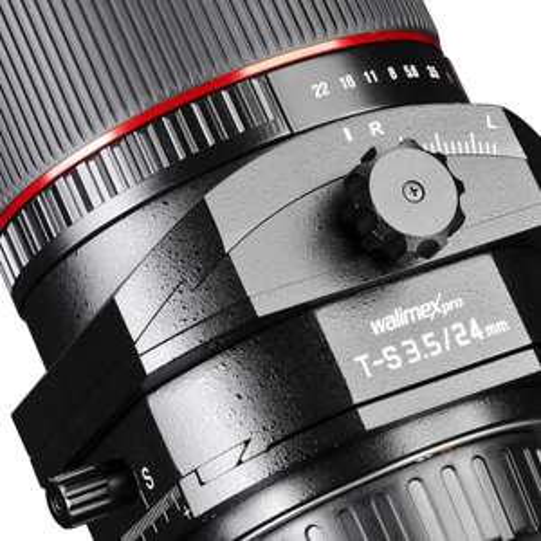 Walimex Tilt Shift 24mm f3.5 nur für Nikon 679€ von Amazon
