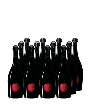 Castle of Dracula Marsecco Red delle Venezie Frizzante IGT 6 + 6 Flaschen gratis Set für 48,40€