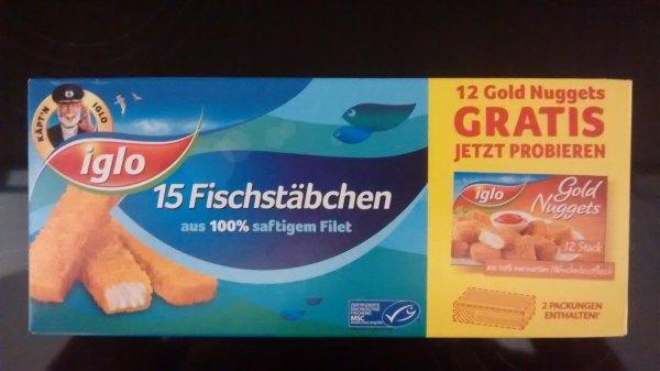 (Edeka) Iglo-Aktionspackung: 15 Fischstäbchen + 12 Chickennuggets gratis