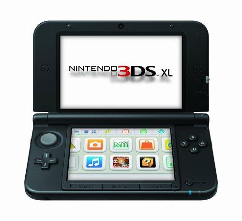 Nintendo 3DS XL in schwarz @ Saturn.de
