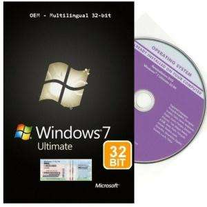 Windows 7 Ultimate 32 bit