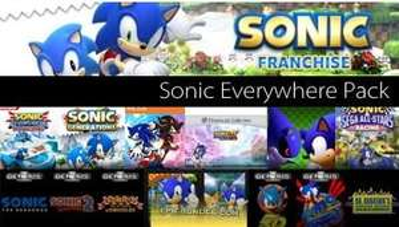STEAM - Sonic Everywhere Pack 17x Sonic für 9,31€ @ Amazon.com