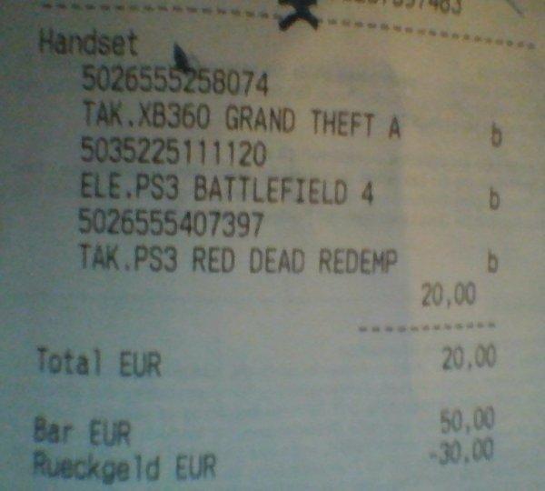 [MM Deggendorf] 3 für 20€ (PS3, Xbox360, Pc)
