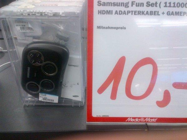 [lokal] [Media Markt Berlin-Hohenschönhausen] Samsung Gamepad inkl. HDTV-Adapter (u.a. für Galaxy)