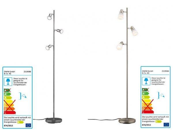 LED Stehleuchte [LIDL]
