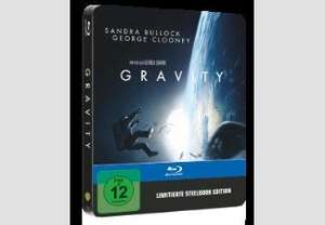 Gravity (Exklusive Steelbookedition) Blu-ray ab 8,99€ @saturn.de