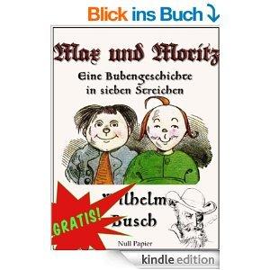 Max & Moritz als Kindle-eBook wieder gratis