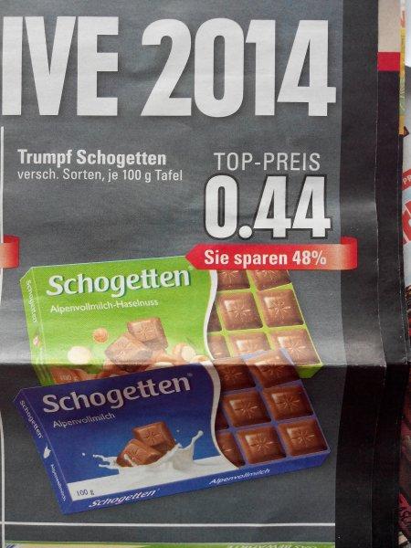 (Edeka Rhein -Ruhr ) Trumpf schogetten 0,44€
