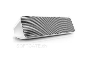 NBB Philips SBT550WHI/12 - Kabelloser Bluetooth-Lautsprecher