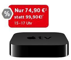 Apple TV 74,90€   WD 1TB USB 3.0 44,90€ nur Heute in Hamburg!