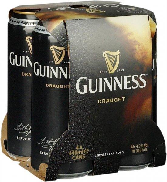Penny - Guinness 4 Dosen 4,99 Euro