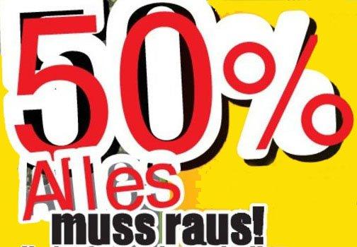 50% Rabatt auf Campingartikel ab Montag bei Thomas Philipps