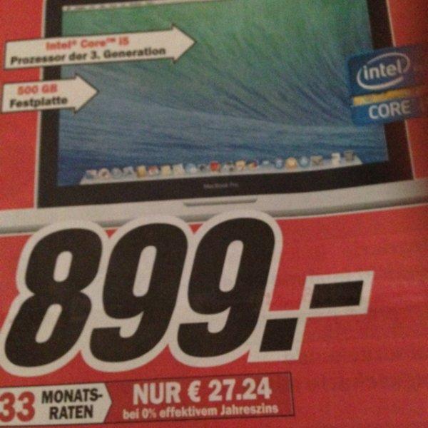 MacBook Pro 13 Zoll (MD 101) für 899€ Lokal
