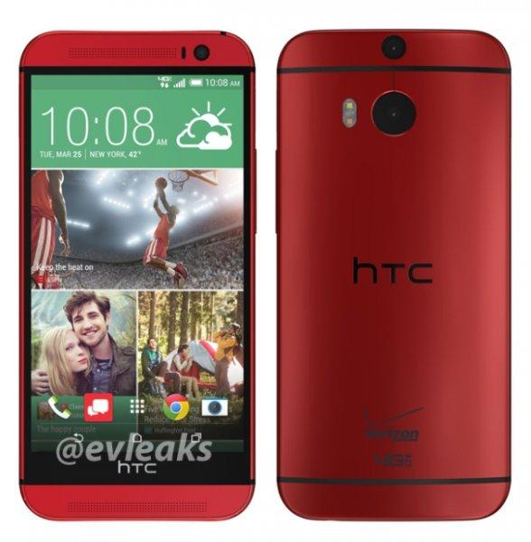 HTC One M8 red für 409€ @Media Markt