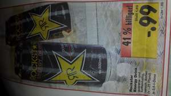 Rockstar Energy Alle Sorten  0.5 L Kaufland 0,99 Euro