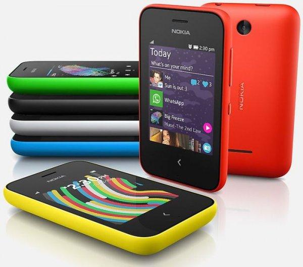 Nokia Asha 230 (Wert: 50 Euro) für 1 Euro durch kostenlosen Handyvertrag @mobilcom