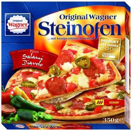 [Kaufland] Lokal Leipzig - Wagner Steinofen Pizza 1,49€ - verschiedene Sorten - bundesweit 1,66€