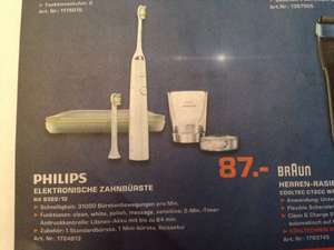 [local] Saturn Bergisch Gladbach - Philips Sonicare DiamondClean Schallzahnbürste HX9322/12 für 87€ - idealo 109,-€