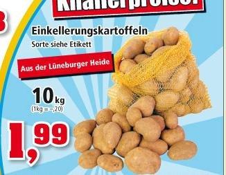 [lokal] 10 Kg Kartoffeln bei Thomas Philipps für 1,99€